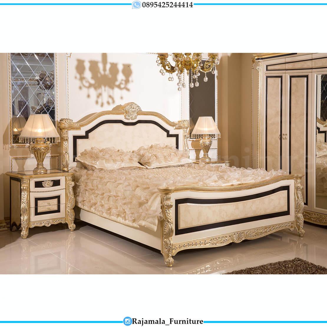 Tempat Tidur Mewah Ukiran Jepara Luxury Classic Carving Greatest RM-0225