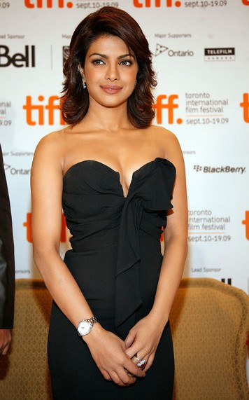 Priyanka Chopra Spicy Stills in Black Top