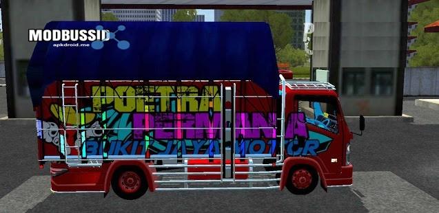 Truck Canter NMR71 Mekar Jaya Full Led