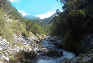 Barranquismo con Rumbo a Picos.