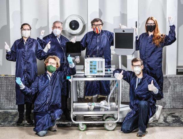 La NASA crea un respirador para combatir el Covid-19