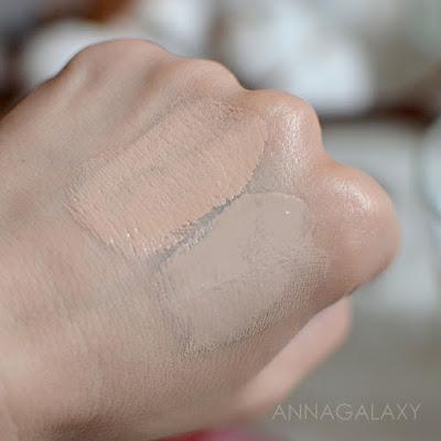 Сравнительные свотчи на Missha perfect cover BB cream 21 light beige