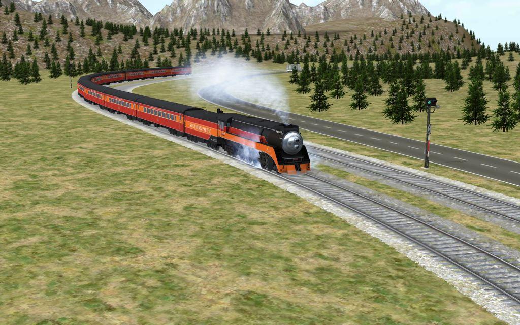 Game Kereta Api Terbaik di Android Train Sim