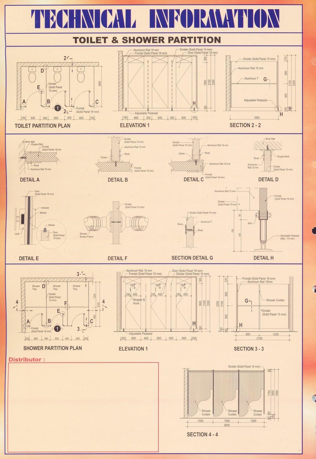 Daftar Harga Baja Ringan Oktober 2018 Partisi Kubikal Toilet : Rose Hill ~ Pemasuk Material Bangunan