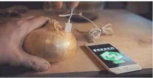 طريقة مذهلة مجربة حديثا اشحن بطارية هاتفك عن طريق البصل