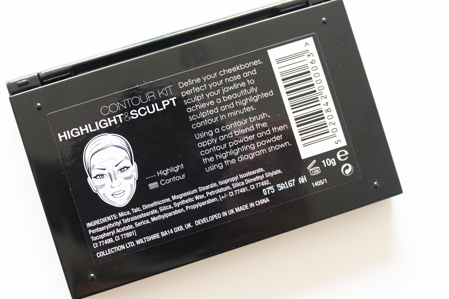 COLLECTION   Contour Kit Highlight + Sculpt Palette - Review + Swatches - CassandraMyee