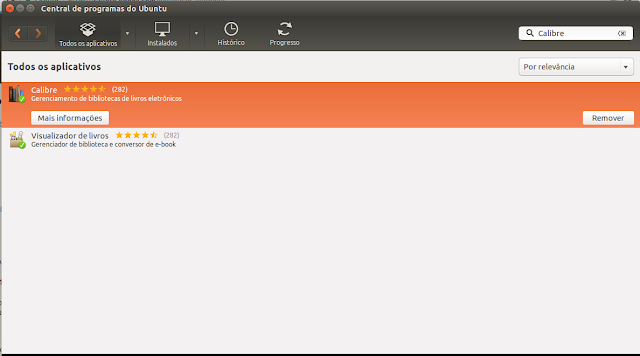 Ubuntu Central de Programas
