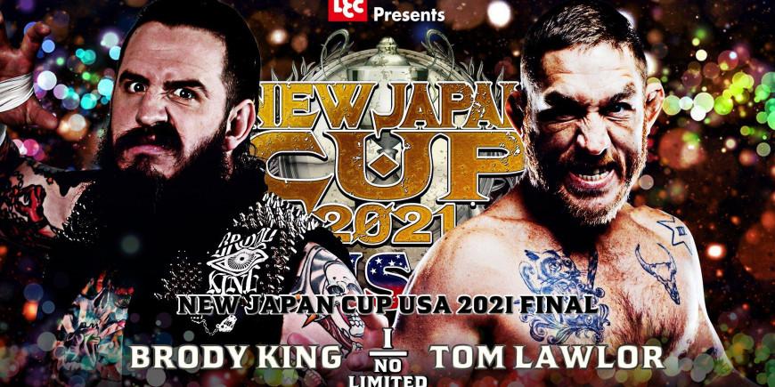 Cobertura: NJPW New Japan Cup USA 2021 – Final – Sujo!