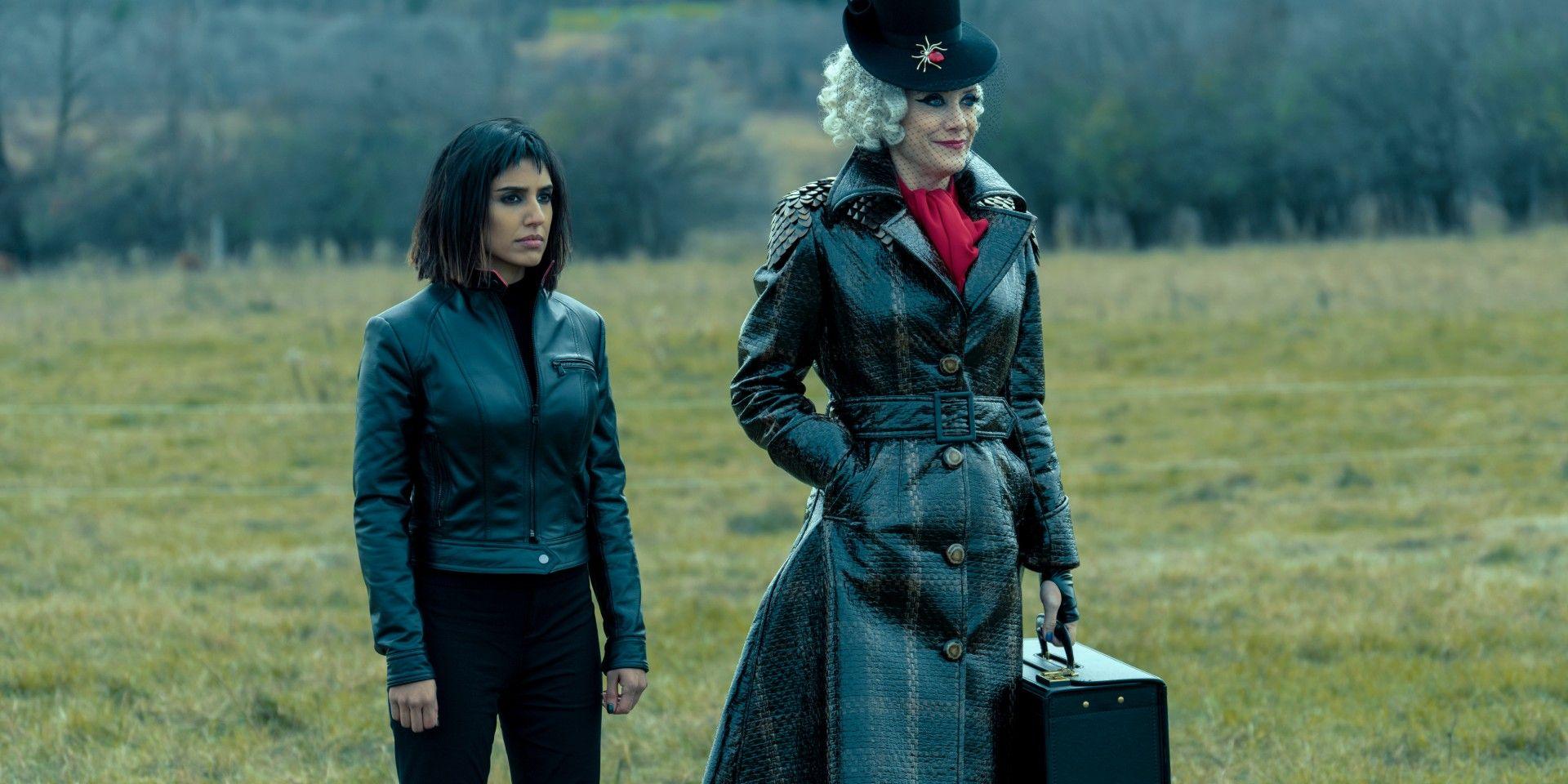 Lila y The Handler en la segunda temporada de The Umbrella Academy