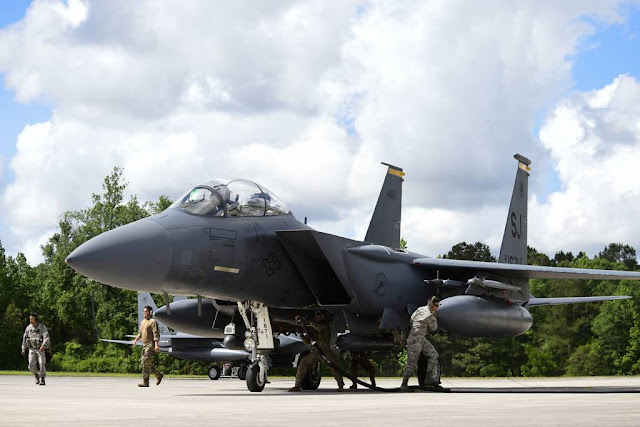 USAF F-15 Spangdahlem Germany Europe