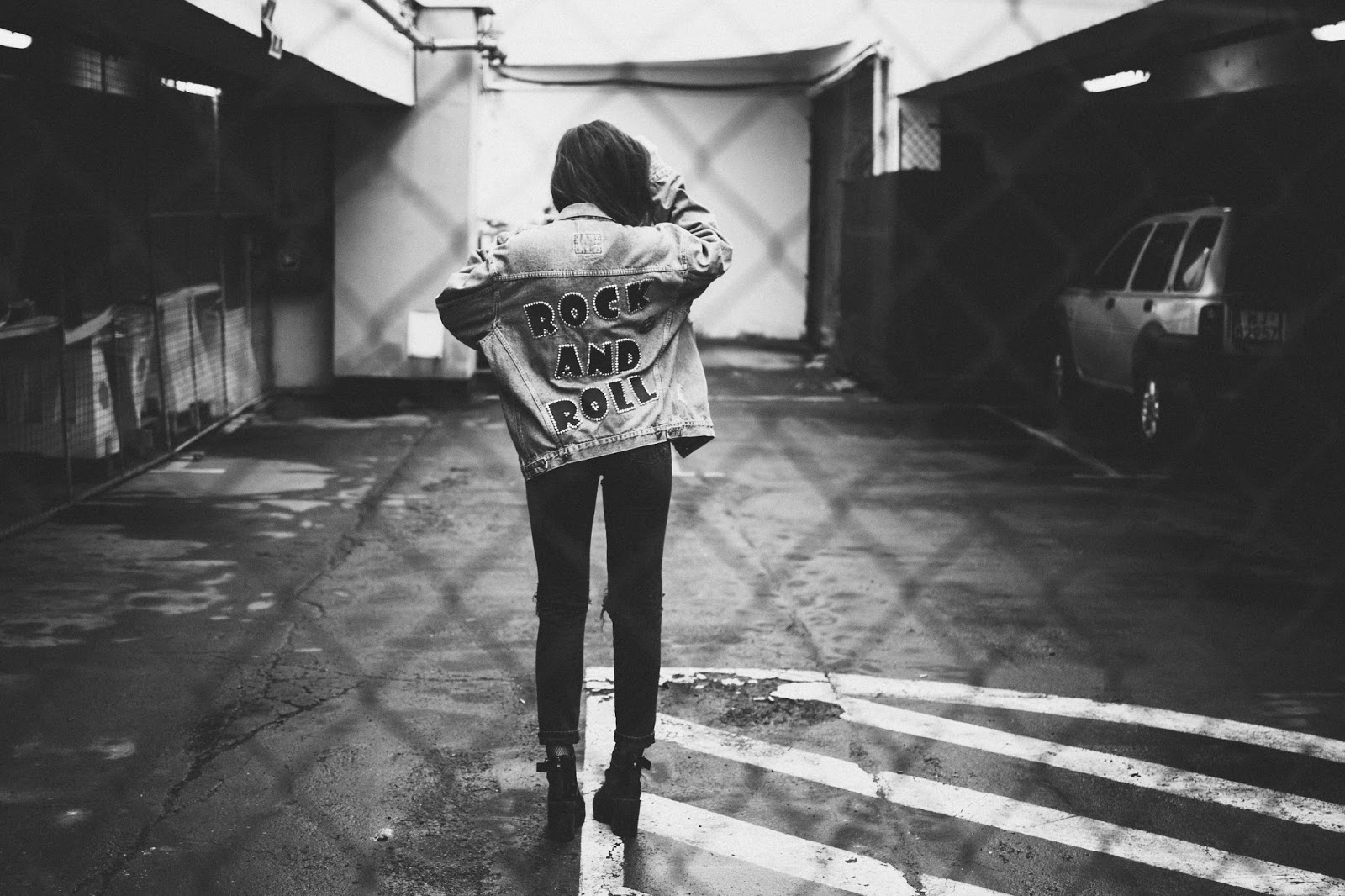 rock denim jacket