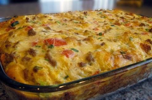 Best Recipes In World Breakfast Egg Amp Sausage Casserole