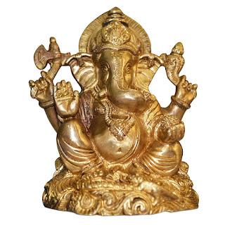 DronaCraft Lord of Success Shree Ganesha Brass Statue