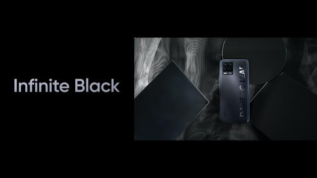 Realme 8 Series Infinite Black Color