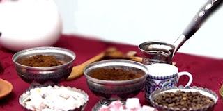 evde, ev yapımı hürrem sultan kahvesi, lokumlu türk kahvesi, KahveKafeNet