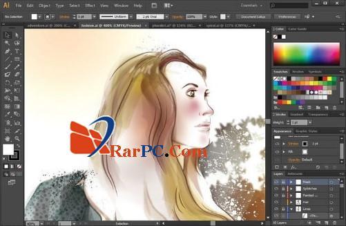 تحميل برنامج adobe illustrator cs6 + crack داعم للغة العربية كامل من ميديا فير