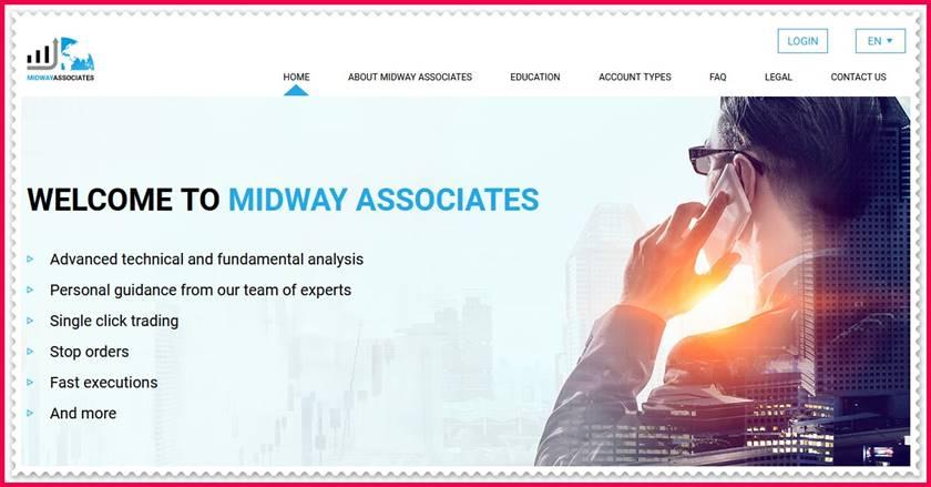 Мошеннический сайт midwayassociates.co – Отзывы, развод, платит или лохотрон? Мошенники