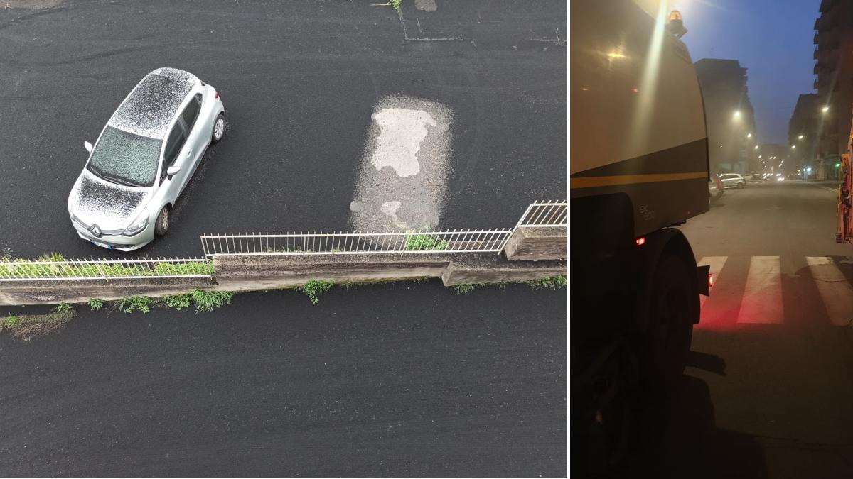 Eruzione Etna cenere ordinanza comunale Catania Pogliese