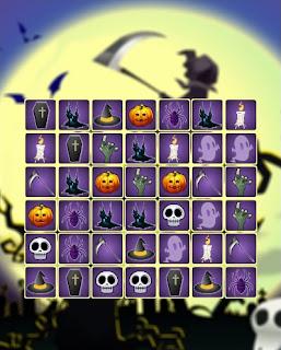 Jogue Halloween Connect online