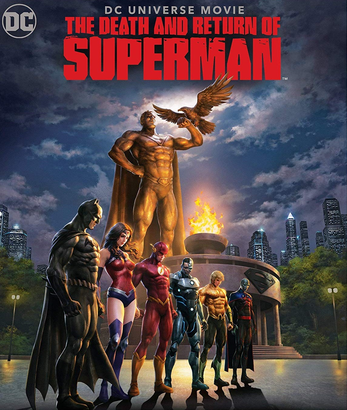 The Death and Return of Superman [2019] [DVDR] [NTSC] [Latino]