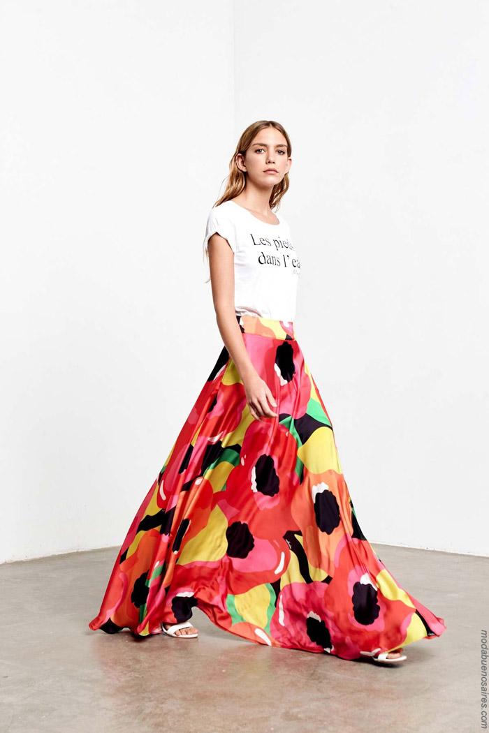 Faldas primavera verano 2020 ropa de mujer.