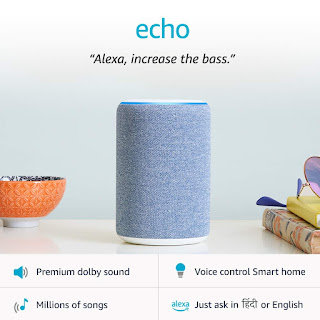 New Amazon Echo (3rd Gen) – Improved sound, powered by Dolby