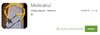 Medicalcul (le calculateur médical )