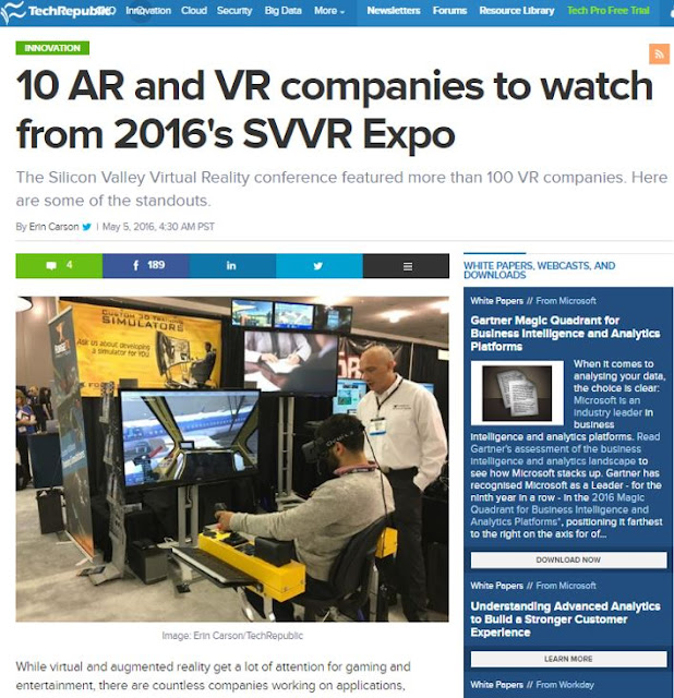 10 AR and VR companies to watch from 2016's SVVR Expo
