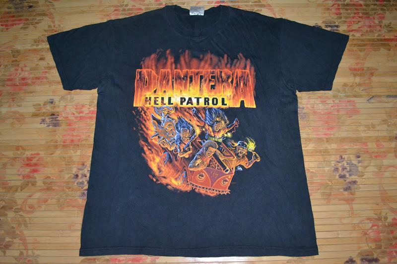 4160c8ea928a9 Anak Liar Rocks!: Vintage 90s PANTERA band Hell Patrol T-shirt