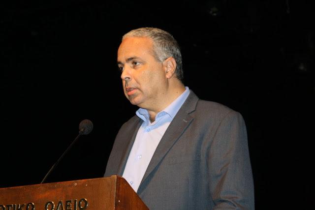 """Ομιλία Νίκου Λυγερού στο Ναύπλιο: """"Στρατηγικές προκλήσεις για την Ελληνική ΑΟΖ"""""""