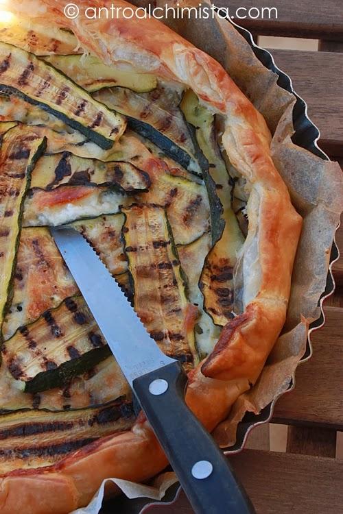 Torta Salata con Stracchino e Zucchine