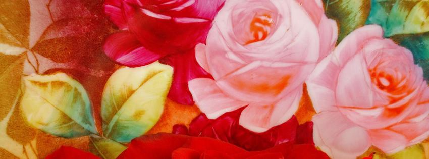 Ảnh bìa Facebook Hoa Hồng Đẹp