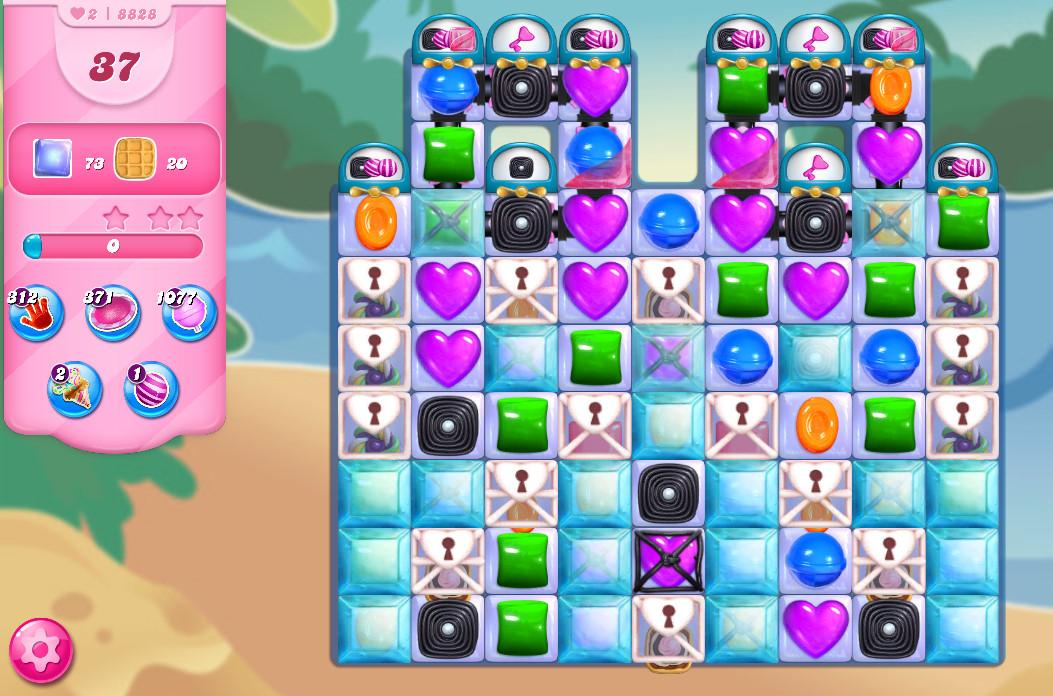 Candy Crush Saga level 8828