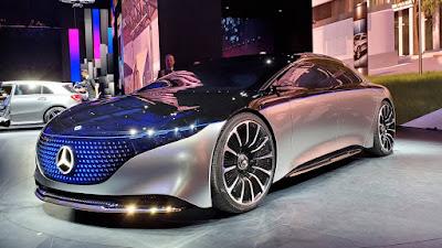 Mercedes-AMG EQS poderia dar a Tesla e Porsche EVs um desafiante de velocidade