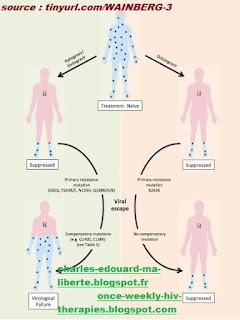 dolutegravir HIV tivicay Darwin puits trou noir évolution monotherapie HIV black hole