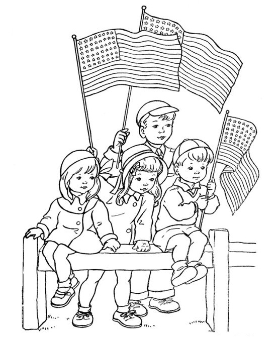Veterans Day Coloring Pages Free Printable
