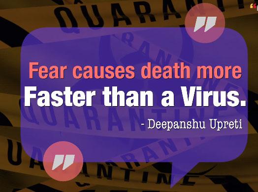 Covid 19 Virus Quote