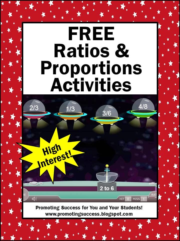 Ratios and Proportions  Videos, Online Games, Printable Activities