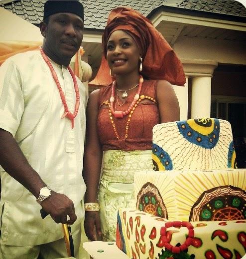 Celebrity Wedding Nollywood Movie: Nuella Njubigbo & Tchidi Chikere' Wedding