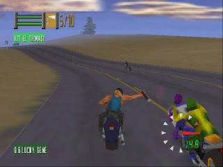 Jogo Rom Road Rash Nintendo 64 online grátis