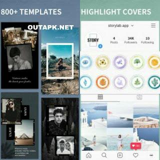 StoryLab – insta story art maker for Instagram v3.4.3 (VIP) Apk