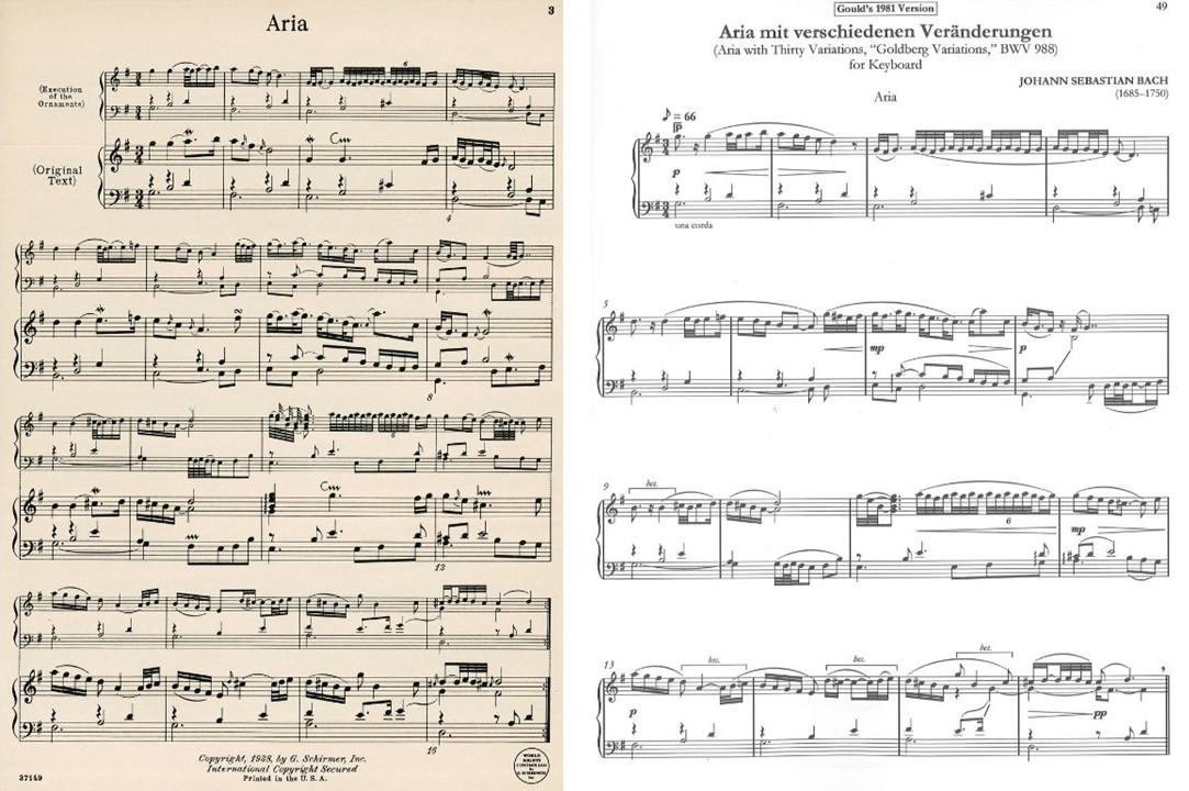 goldberg variations aria
