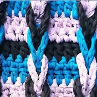 Punto Escalera a Crochet
