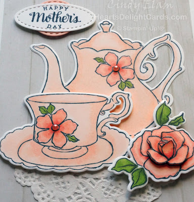 Heart's Delight Cards, Tea Together, Mother's Day Card, Occasions 2019, Stampin' Up!