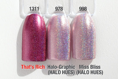 """Comparison """"HALO JEWELS"""" """"HALO HUES"""" That's Rich"""
