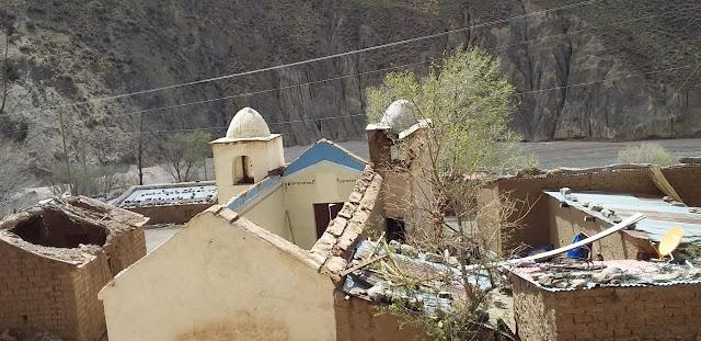 Foto: der Umbau der Kapelle in Zapatera hat begonnen