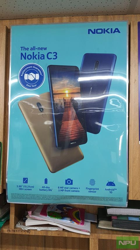 Nokia C3 Poster Leaks - Soon Expected Launch In India