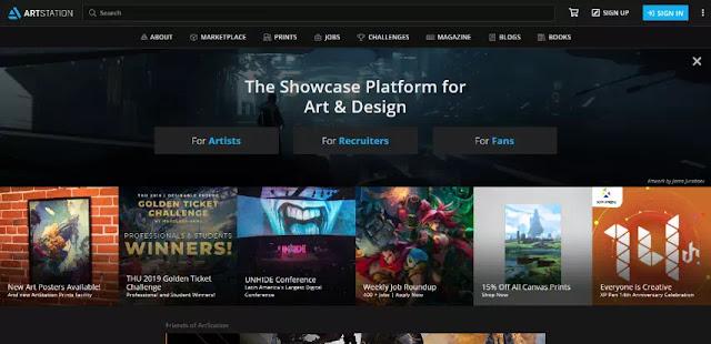ArtStation (www.artstation.com)