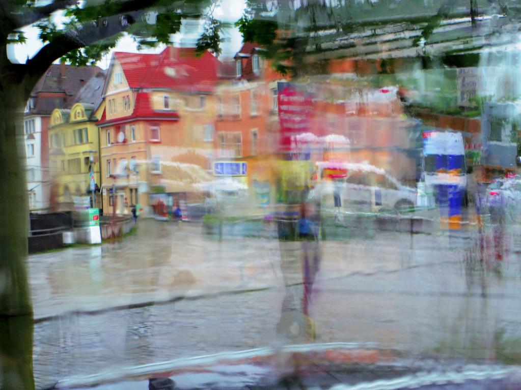 Der DigitalArt -Dienstag – Eine Busfahrt im Regen ist lustig