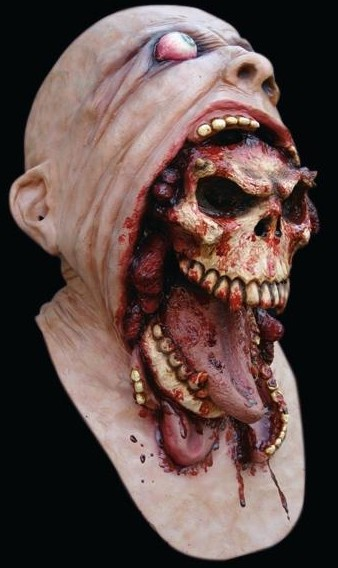 Demon escapes - Mask - Very Gory Latex horror mask - Masks Halloween Costumes Realistic Horror Scary Latex mask & Realistic Halloween Horror Masks at www.merlinsltd.com: Demon ...